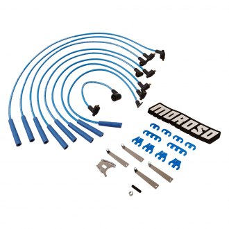 Moroso® - Blue Max Ignition Wire Dress-Up Kit Spiral Core