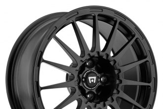 "MOTEGI RACING® - MR119 RALLYCROSS S Satin Black with Clear Coat (17"" x 7"", +48 Offset, 5x100 Bolt Pattern, 72.6mm Hub)"