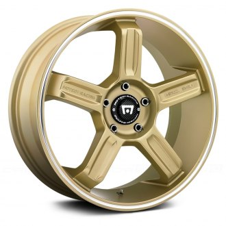 MOTEGI RACING® - MR122 Gold with Machined Groove