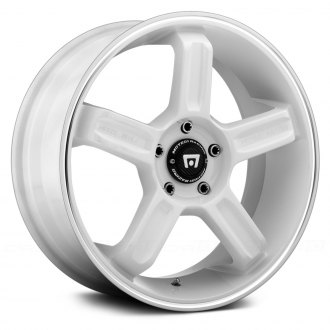 MOTEGI RACING® - MR122 White with Machined Groove