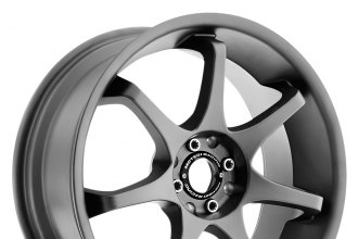 "MOTEGI RACING® - MR125 Titanium Gray (16"" x 7"", +40 Offset, 4x100 Bolt Pattern, 72.6mm Hub)"