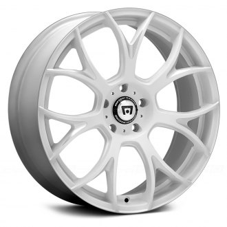 MOTEGI RACING® - MR126 Matte White with Milled Accents