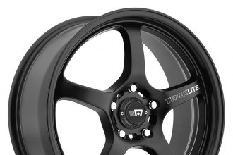 "MOTEGI RACING® - MR131 Satin Black (17"" x 8"", +40 Offset, 5x114.3 Bolt Pattern, 72.6mm Hub)"