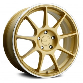 MOTEGI RACING® - MR138 Gold with Machined Lip