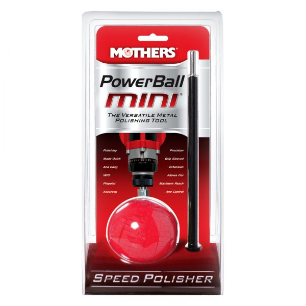 Mothers® - PowerBall Mini™ Polishing Tool with Extension