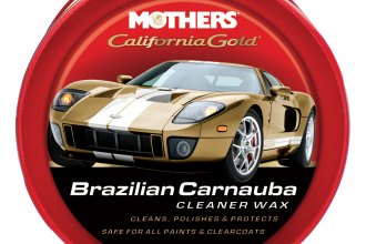 Mothers® - California Gold™ 12 oz. Brazilian Carnauba Cleaner Wax Paste