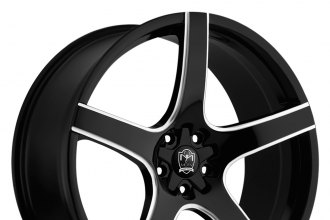 MOTIV® - 410BM MARANELLO Gloss Black with Milled Accents