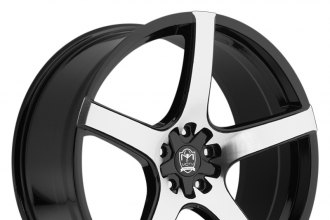 "MOTIV® - 410MB MARANELLO Gloss Black with Mirror Machined Face (18"" x 8"", +20 Offset, 5x114.3 Bolt Pattern, 73mm Hub)"