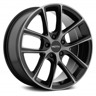 MOTIV® - 420MBDT MURANO Gloss Black With Machined Face And Dark Tint