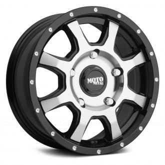 16 inch truck wheels rims custom offset agressive lifted Fuel Beast 20X12 33s moto metal mo970 euro van gloss black with machined face