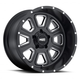 MOTO METAL® - MO972 Satin Black with Milled Accents
