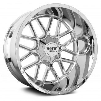 MOTO METAL® - MO986 SIEGE Chrome