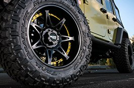 MOTO METAL® - MOT961 on Jeep - Front Wheel View
