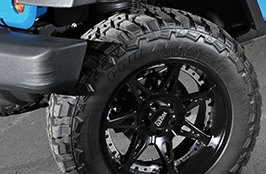 MOTO METAL® - MOT961 Rims on Jeep