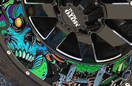 MOTO METAL® - MOT962 Custom Painted Rims