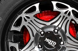MOTO METAL® - Wheels on Dodge Ram