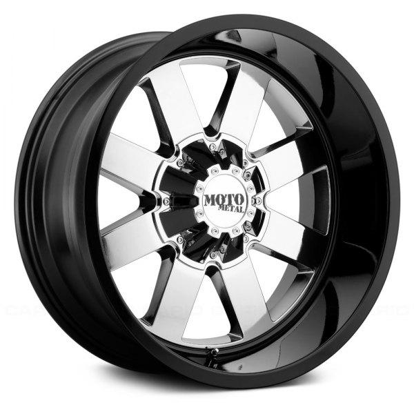 moto metal mo962 wheels pvd center with gloss black lip rims. Black Bedroom Furniture Sets. Home Design Ideas