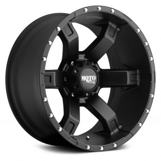 MOTO METAL® - MO967 Satin Black with Clear Coat