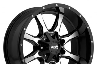 MOTO METAL® - MO970 Gloss Black with Milled Face