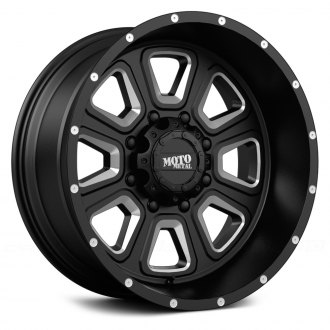 MOTO METAL® - MO972 Gloss Black with Milled Accents