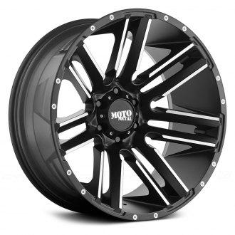 MOTO METAL® - MO978 RAZOR Satin Black with Machined Spokes