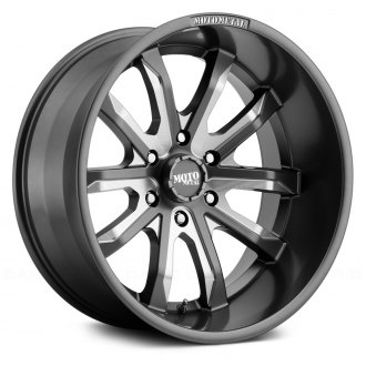 MOTO METAL® - MO983 Satin Gray with Milled Accents