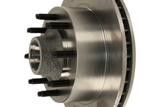Motorcraft® - Front Brake Rotor and Hub Assembly
