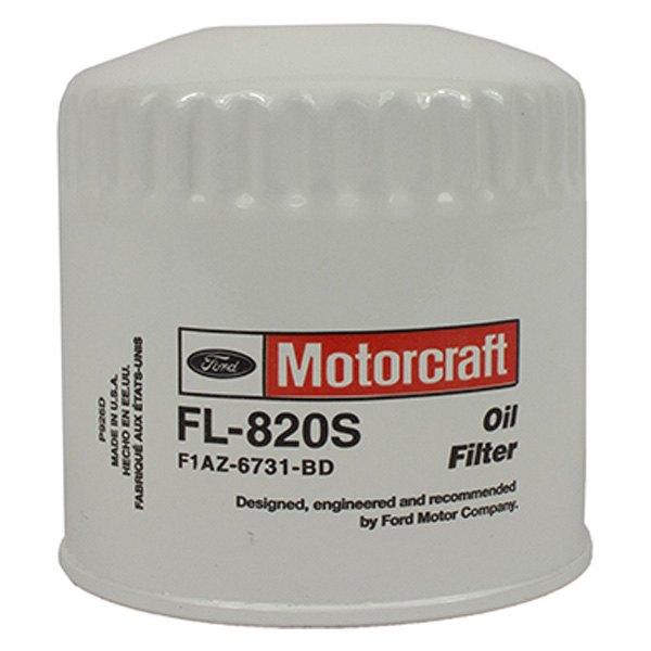 MOTORCRAFT PARTS FL820S FILTER ASY OIL