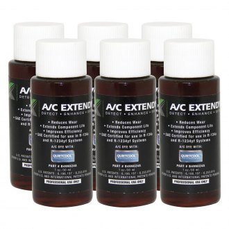 MotorVac® - 1 oz. Bottle Pack of 6 Piece A/C ExtenDye