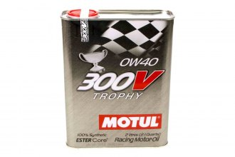 Motul USA® - 300V 0w40 Racing Oil Synthetic 2 Liters