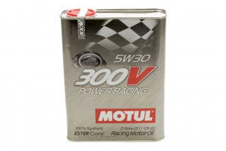 Motul USA® - 300V 5w30 Racing Oil Synthethic 2 Liters
