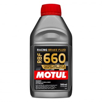 Motul USA® - RBF 660 DOT 4 Synthetic Brake Fluid 16.9 oz