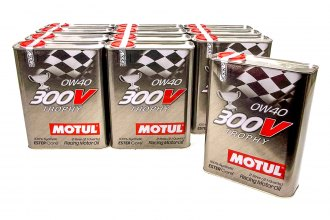 Motul USA® - 300V 0W40 Racing Oil Synthetic, 12x2 L Case
