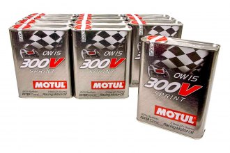 Motul USA® - 300V 0W15 Racing Oil Synthetic, 12x2 L Case