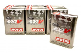Motul USA® - 300V 5w30 Racing Oil Synthetic Case 10x2Liter