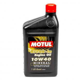 Motul USA® - Classic SAE 10W-40 Mineral Break-In Engine Oil 1 Quart