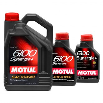 Motul USA® - 6100 Synergie Technosynthese Motor Oil