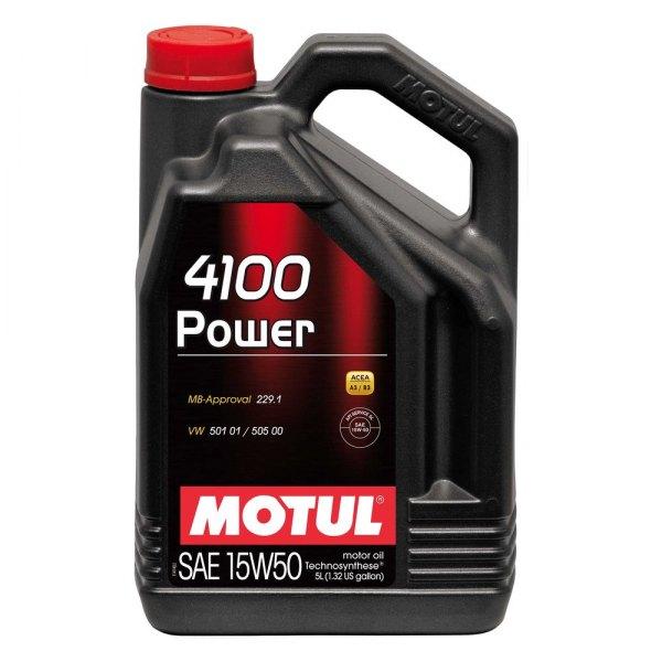 Motul Usa 100273 Power Technosynthese Sae 15w 50 Motor Oil