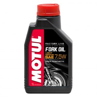 Motul USA® - Factory Line Synthetic SAE 7.5W Suspension Oil