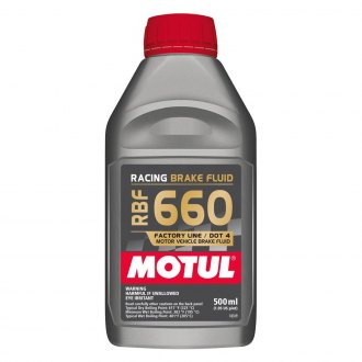 Motul USA® - 660 Degree Brake Fluid, 0.5 Liter