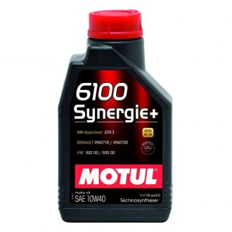 Motul USA® - 6100 Synergie+ Technosynthese Motor Oil