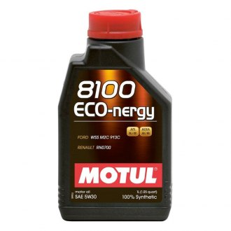 Motul USA® - Eco-Nergy Synthetic Motor Oil