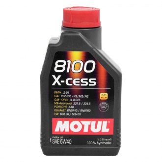 Motul USA® - 8100 X-Cess Synthetic Motor Oil