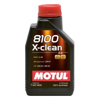 Motul USA 102785 - X-Clean Synthetic SAE 5W-30 Motor Oil