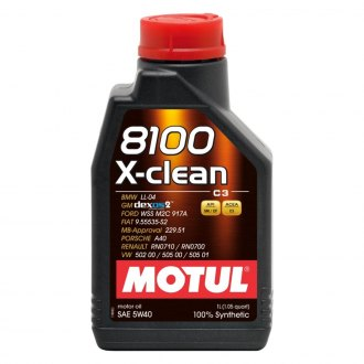 Motul USA® - 8100 X-Clean C3 Synthetic Motor Oil