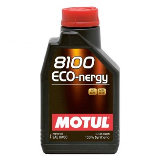 Motul USA® - 8100 Eco-Nergy Synthetic Motor Oil