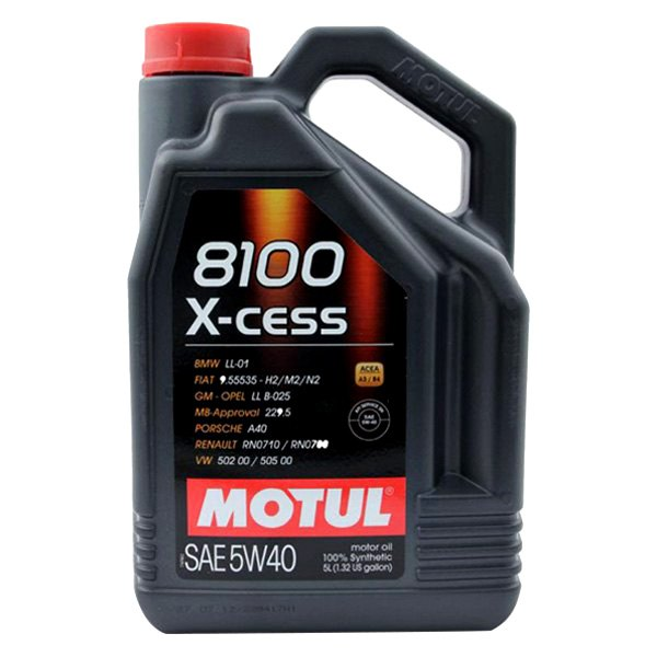 motul usa 102870 x cess synthetic sae 5w 40 motor oil. Black Bedroom Furniture Sets. Home Design Ideas