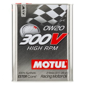 Motul USA 104239 - High RPM Synthetic SAE 0W-20 Motor Oil