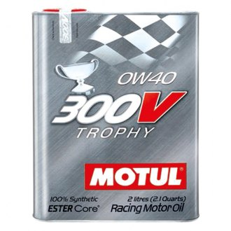 Motul USA 104240 - Trophy Synthetic SAE 0W-40 Motor Oil