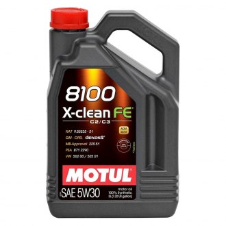 Motul USA® - 8100 X-Clean FE Synthetic Motor Oil